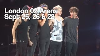 One Direction - On The Road Again Tour - London, Uk - FULL Concert