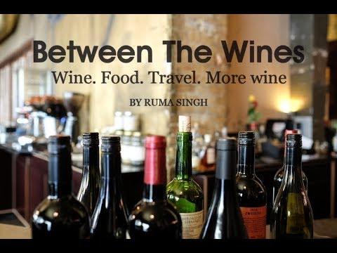 Tasting wine with Andrea Valentinuzzi, winemaker, SDU Winery India