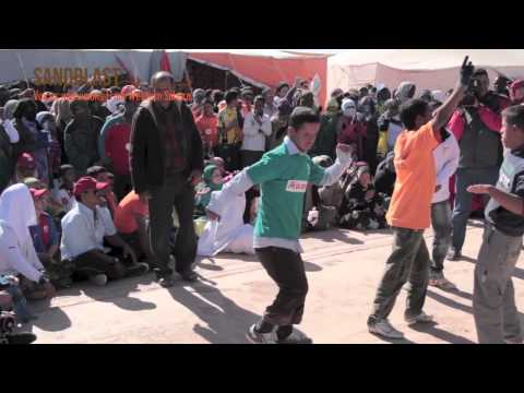 Tiris band - Ma Zein Wadna - Saharawi refugee camps, Dec 2012