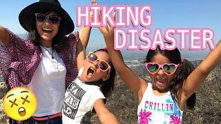 Hiking Disaster - Family Vlogs : VLOG IT // GEM Sisters