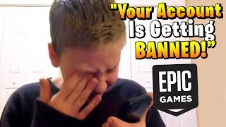 Kid prank calls Fortnite for fun, goes very wrong...