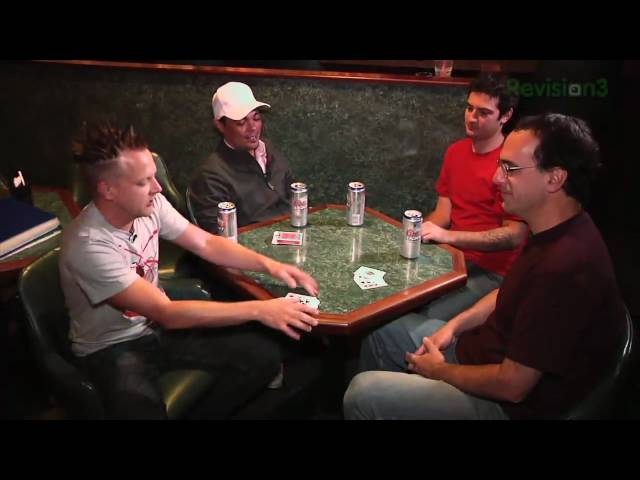 Scam School - Punk Your Friend With Face Up Poker - Scam School - Smashpipe film