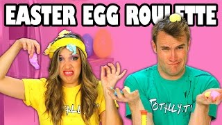 Easter Egg Roulette Margeaux vs Weston crack Easter Eggs on their Heads. Totally TV Videos