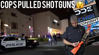 Police Draw GUNS at Daily Driven Exotics and Alex Choi Fan Meet! Jay Flat Out on Rodeo Drive