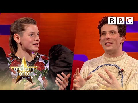 How we became Charles and Diana for The Crown! | The Graham Norton Show - BBC
