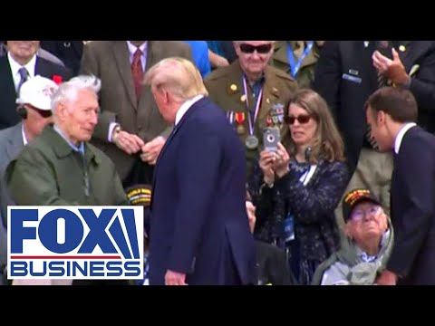 Trump is first sitting president to attend Veterans Day Parade