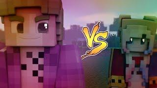 JOKER vs HARLEY QUINN | MINECRAFT ( batallas de famosos )