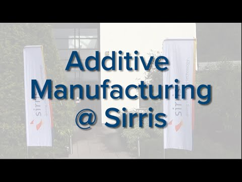 Additive Manufacturing at Sirris