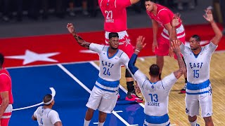 Crazy All Star Game | STEPHEN CURRY CANT GUARD ME | BROKE SCORING RECORD | NBA 2k16 MyCareer