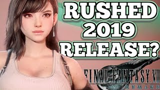 RELEASE DATE: Final Fantasy 7 Remake Rushed Into 2019!? | BIG Square Enix News & Mystery