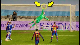 Marc-André ter Stegen - Saving Barcelona - Ridiculous Saves 2021🔥