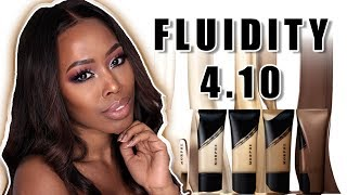 NEW MORPHE FLUIDITY FOUNDATION REVIEW - WOC 4.10 - #morphefluidity #fluidity4.10 #morphefoundation