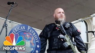 Some 'Militia' Members Call On Protesters To Stand Down   NBC News NOW