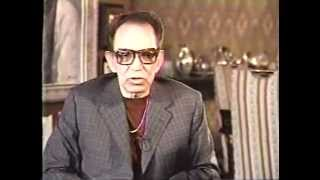 """MARIO MORENO """"CANTINFLAS"""" (1992) SU ULTIMA ENTREVISTA POR TELEVISION"""