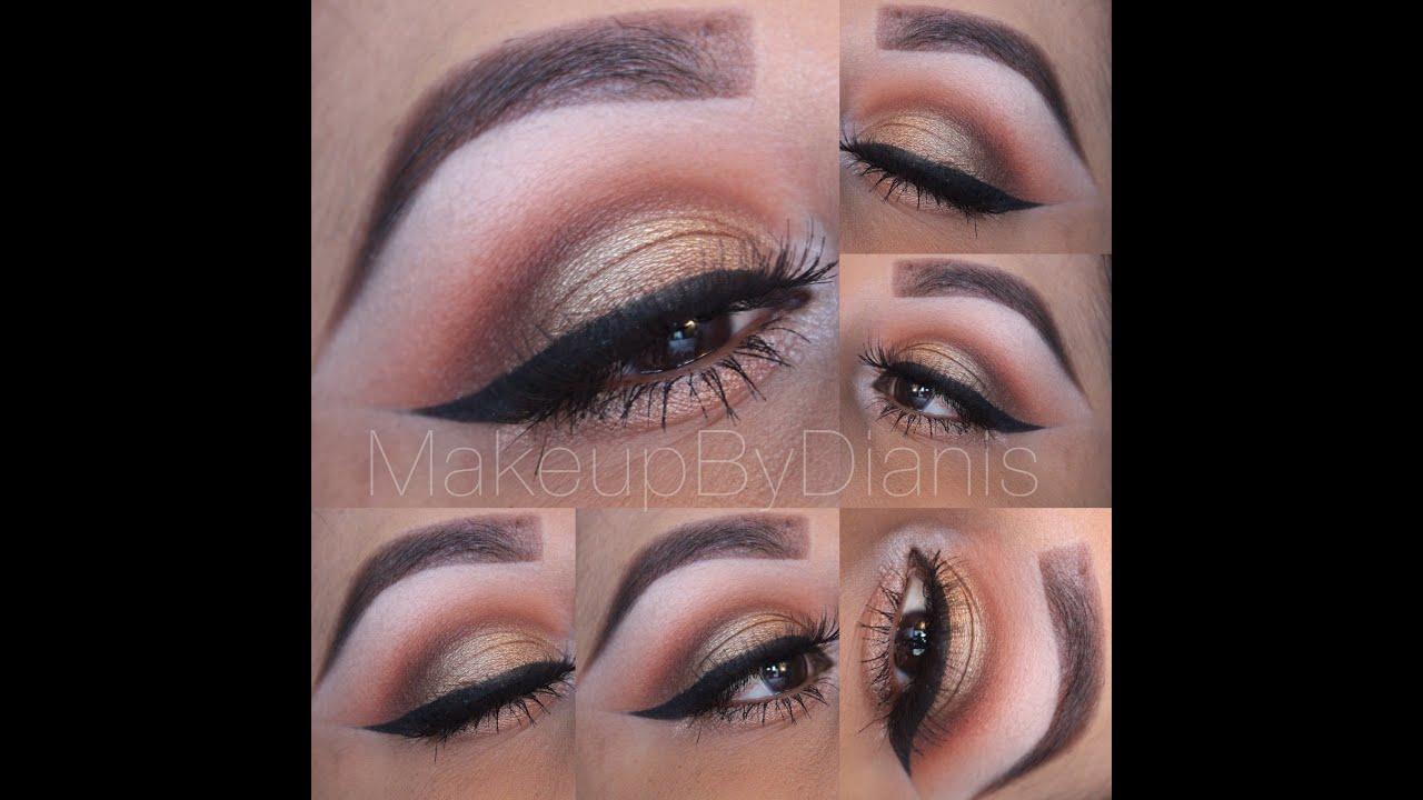 Thanksgiving eye makeup