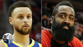 Steph Curry can run from James Harden on defense, but he can't hide - Jalen Rose | Jalen & Jacoby