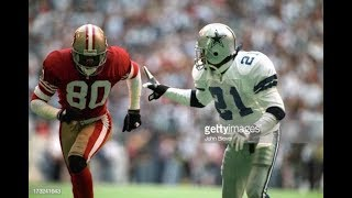 Deion Sanders vs Jerry Rice (1995)