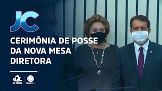 Cerimônia de posse da nova mesa diretora, que será presidida por Evandro Leitão