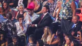 TCA'S 2013: Harry Styles & Zayn Malik Singing Along (Behind The Scenes EXCLUSIVE Footage!)