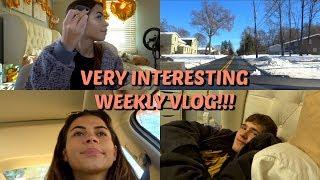 Weekly Vlog: MEET MY BF, GRWM, Snow Day