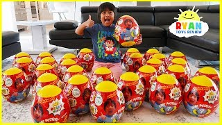 Giant Easter Egg Hunt Surprise Toys for kids Pretend Play with Ryan!!!