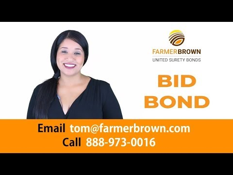 Bid Bonds, What are they ? (Part 1)