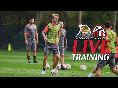 Live Training Session   Porto v AC Milan   Champions League