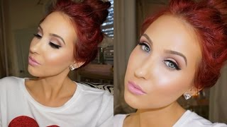 Valentines Day Makeup Tutorial - Feminine & Glowing | Jaclyn Hill