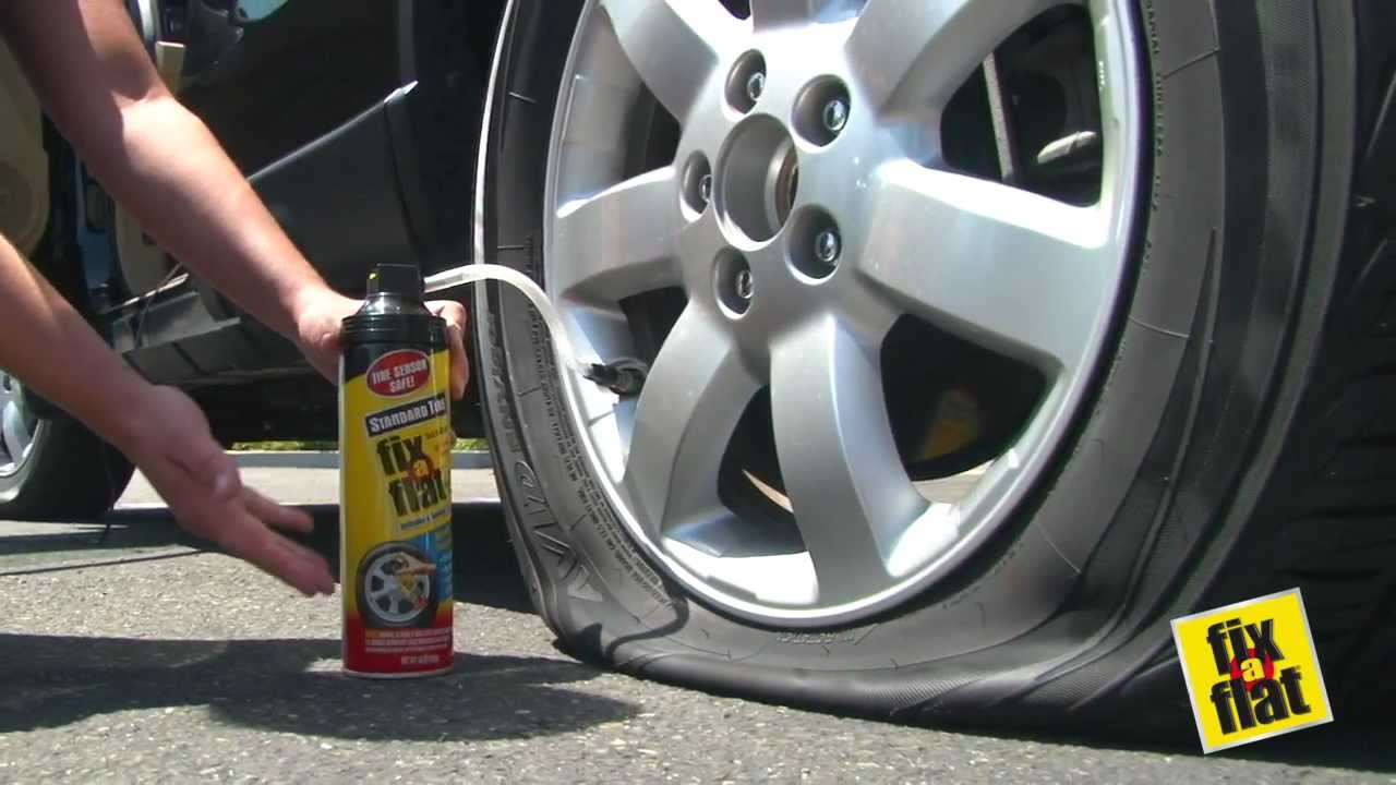 Fix A Flat Tire Inflator Amp Sealer Youtube