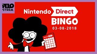 Pelo Strem - Nintedo Direct BINGO + Reaction - 3.09.2018