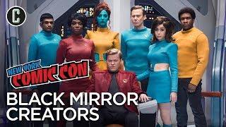 Black Mirror Creators Talk Upcoming Season, Favorite Episodes, and Uber Ratings - NYCC 2017