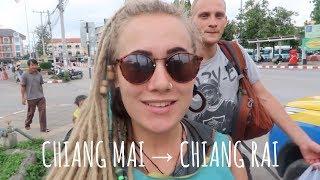 CLASSIC TRAVEL DAY // CHIANG MAI TO CHIANG RAI + WAT RONG KHUN