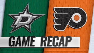 Flyers beat Stars to end eight-game losing streak