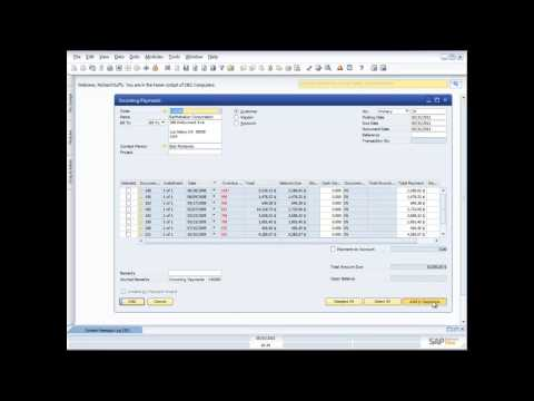 Demonstration of Banking and Cash Functionality in SAP Business One 8 8 from Simmex