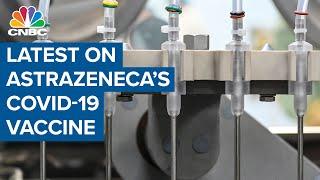 AstraZeneca executive explains positive Covid vaccine results