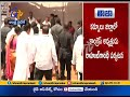 Rahul Gandhi arrives in Peddapadu Village at Kurnool