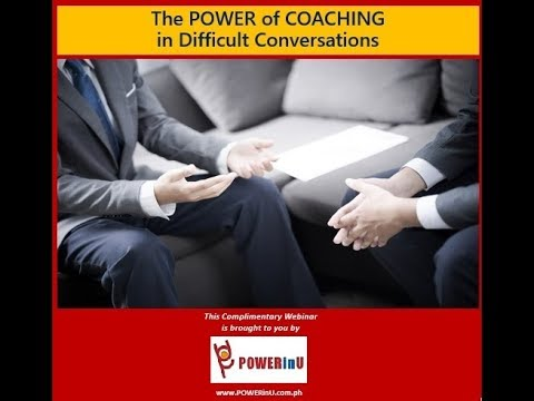 The Power of Coaching in Difficult Conversations