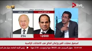 الانتخابات الرئاسية - تعليق أكرم ألفي على المؤشرات الأولية لنتائج ...