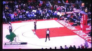 Luke Walton gets ejected from game vs Rockets