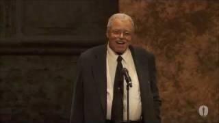 James Earl Jones receives an Honorary Award at the 2011 Governors Awards