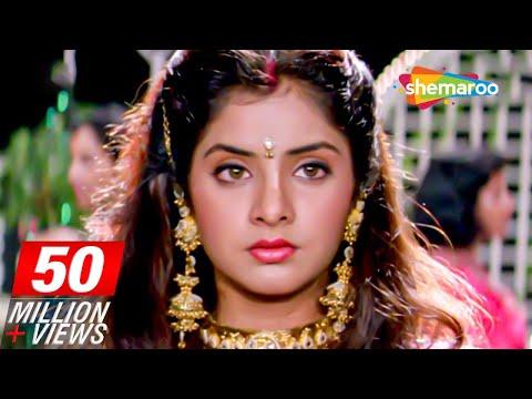 Sharukh Khan Celebrates Divya Bhati's Birthday scene from Deewana - Rishi Kapoor - 90's Movie