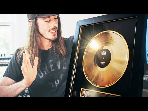 UNBOXING A GOLD RECORD!