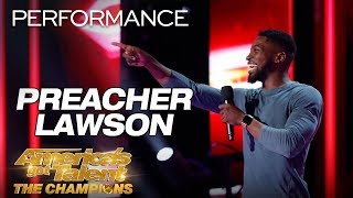 Preacher Lawson: Comedian Hilariously Describes His Love Life - America's Got Talent: The Champions