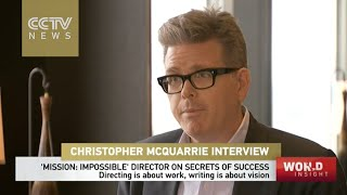 Interview with Christopher Mcquarrie, director of Mission Impossible