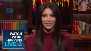 Kim Kardashian West Spills Who The Drunkest Guests At Her Wedding Were   #FBF   WWHL