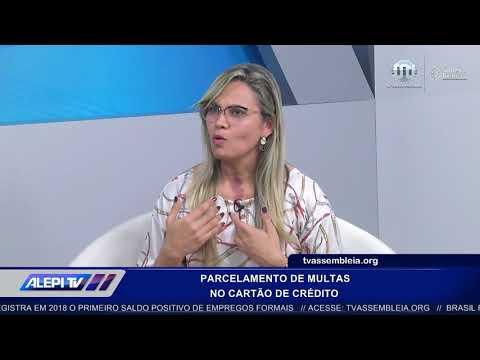 Gerente explica sobre parcelamento de multas em cartão