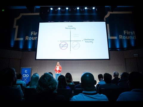 Radical Candor — The Surprising Secret to Being a Good Boss