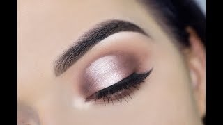 HOW TO: Cut Crease for Hooded Eyes | Jaclyn Hill Palette