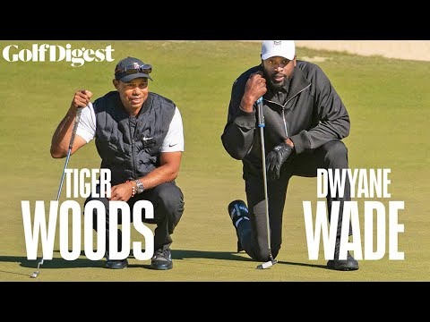 A Round with Tiger: Celebrity Playing Lessons - Dwyane Wade