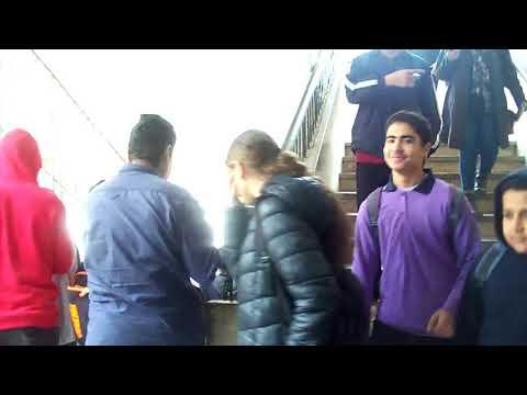 خطة اخلاء مدرسة احمد ماهر الرسمية لغات - إدارة حدائق القبة التعليمية